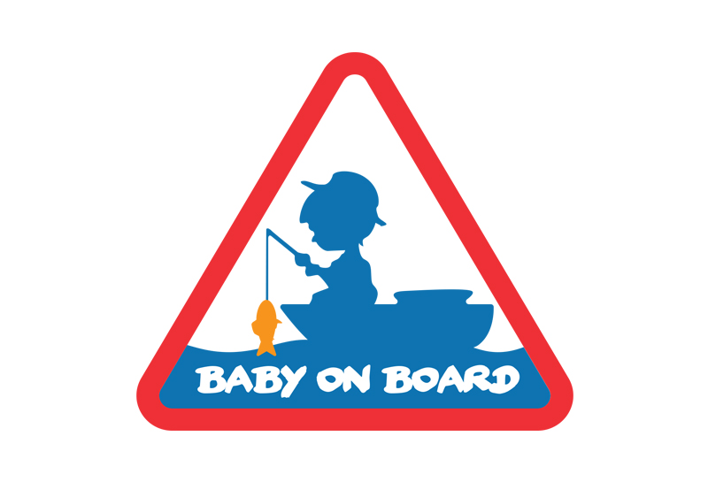 Nálepka BABY ON BOARD