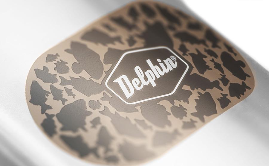 Nerezová ploskačka Delphin CARPATH 210ml