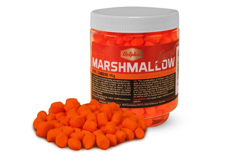 Delphin Micro MARSHMALLOW / syroranžová