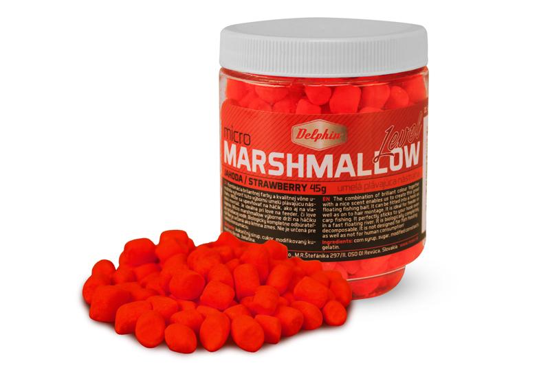 Delphin Micro MARSHMALLOW / jahodačervená
