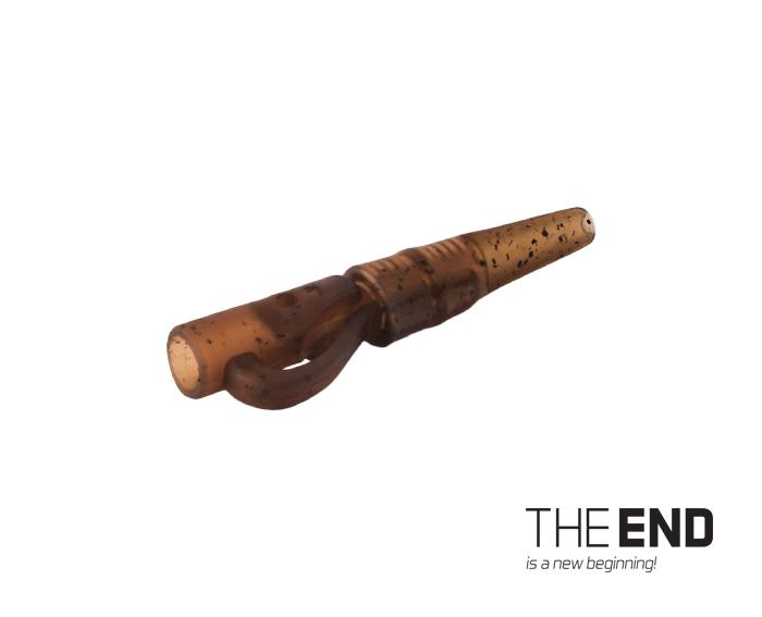 Závěsný PIN klip s gumičkou Delphin THE END G-ROUND 10ks