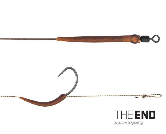 Návazec Delphin THE END Boilie RIG 2ks 20cm 25lbs #4