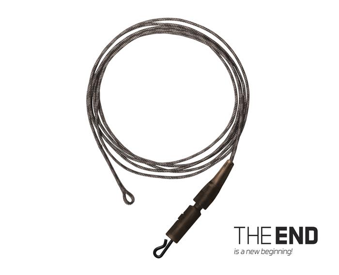 Nádväzec THE END Leadcore + PIN clip / 3ks1m