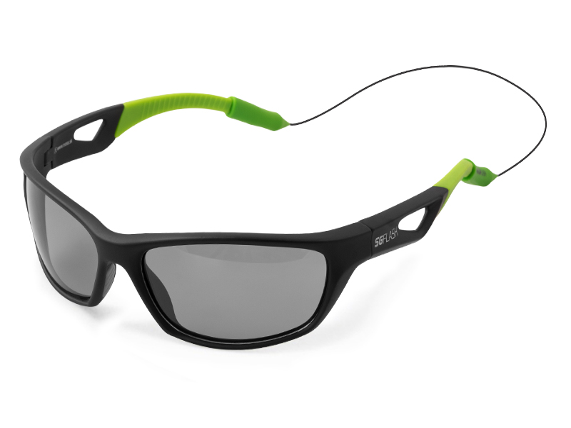 Polarizačné okuliare Delphin SG FLASH sivé sklá