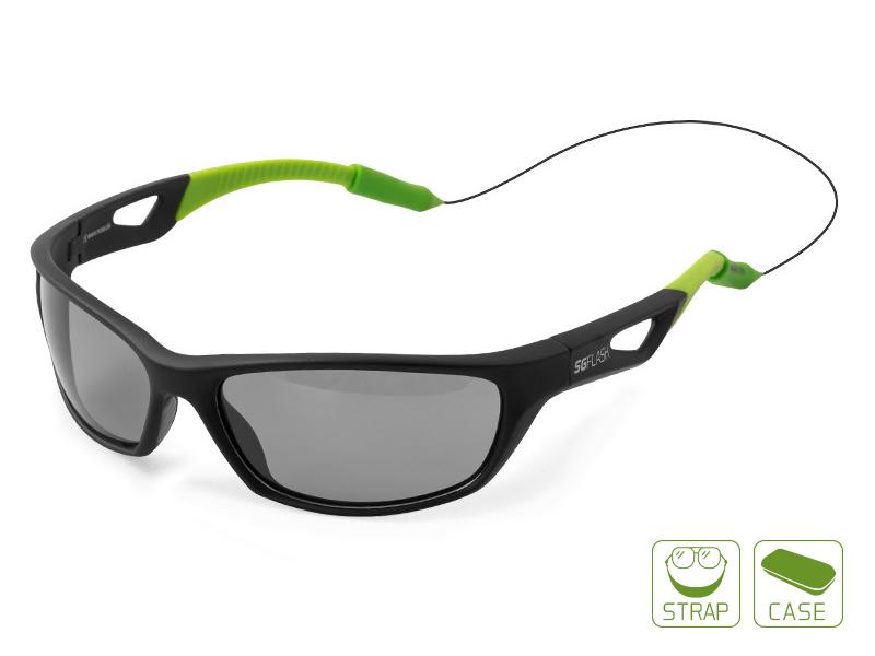 Polarizačné okuliare Delphin SG FLASHsivé sklá