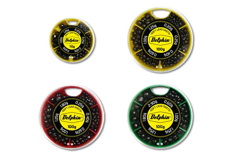 Vyvažovacie olovká DELPHIN SOFT (žltá krabička)70g/0,2-1,25g