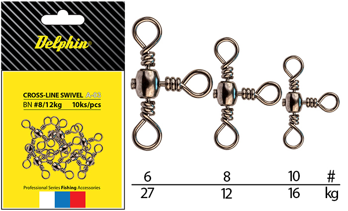 Cross-Line Swivel A-03/10ksBN/8