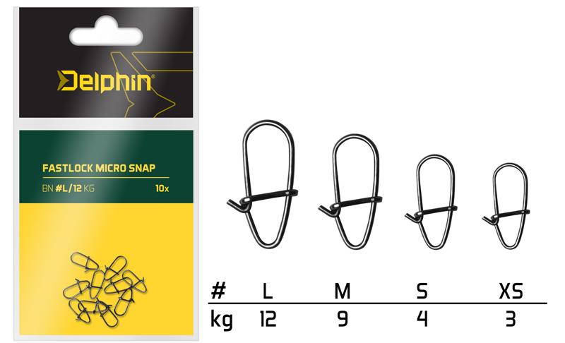 Fastlock micro snap /10ksL/12kg