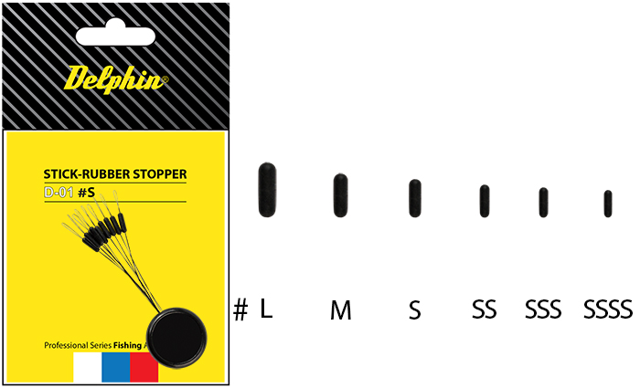 Stick - Rubber stopper M
